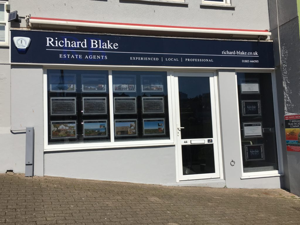 Estate Agents office in Brixham